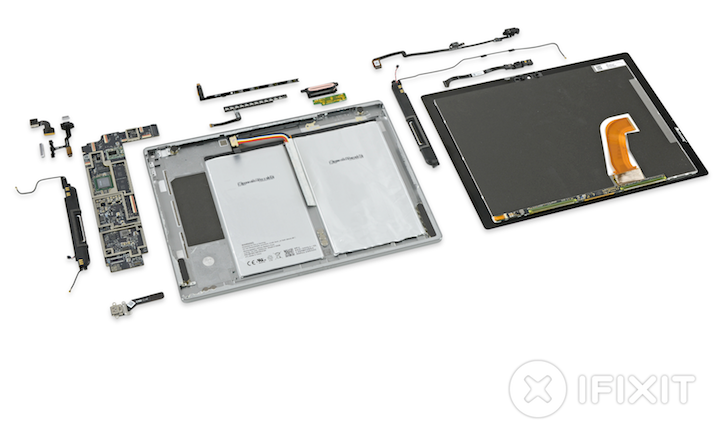iFixit Tears Down The Pixel C, Finds 17 Magnets And Glue, Lots Of Glue