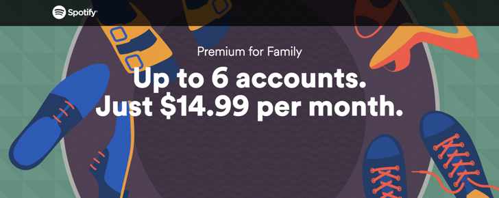Spotify Makes Family Plan Much Cheaper