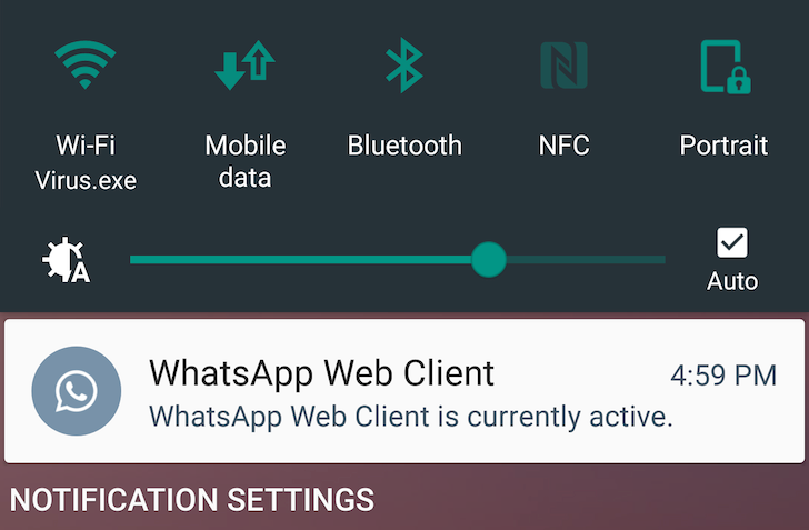 WhatsApp's Latest Update Introduces An Annoying Notification For The Web Client