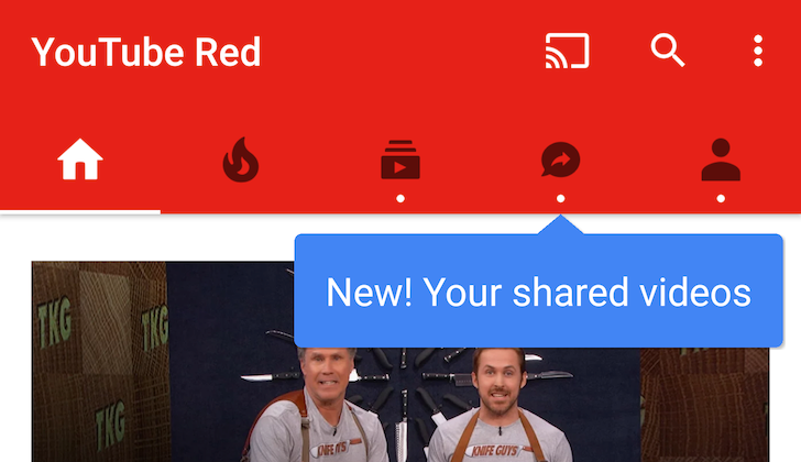 Hands-On With YouTube's New Shared Videos Tab: We Actually Love It