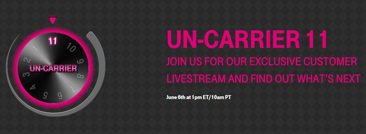 T-Mobile Announces Uncarrier 11 Is Happening On June 6th