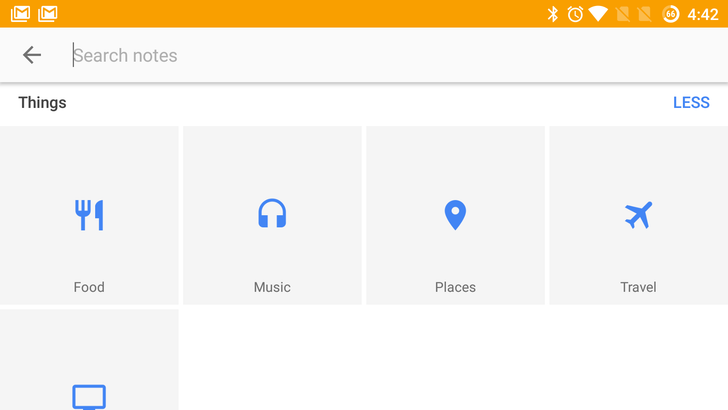 Google Keep update includes automatically generated search topics [APK download]