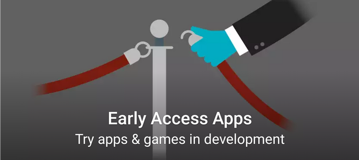 The Play Store Early Access program seems to be rolling out to everybody