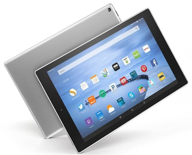 Amazon Releases A 64GB Version Of The Fire 10 HD Tablet With A New Aluminum Body For $290