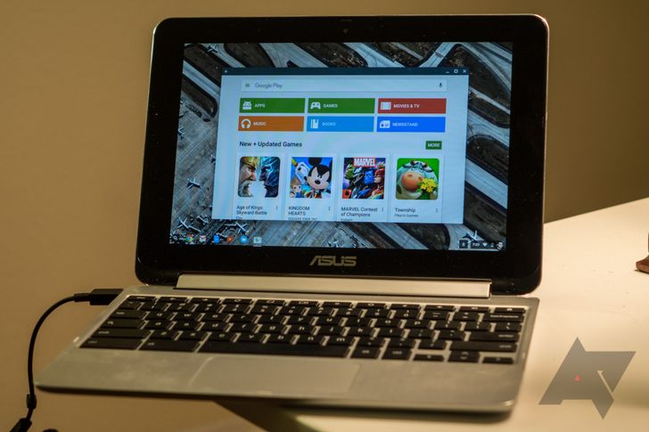 Chrome Developer channel 53 rolling out to ASUS Chromebook Flip now, Play Store in tow