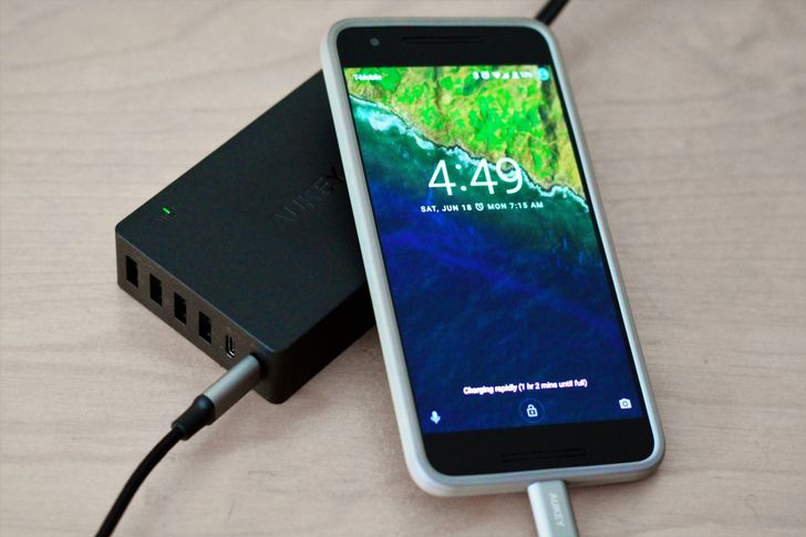 [Review + Deal Alert] AUKEY's new 6 port charging station with 2 USB Type-C ports will charge all your things