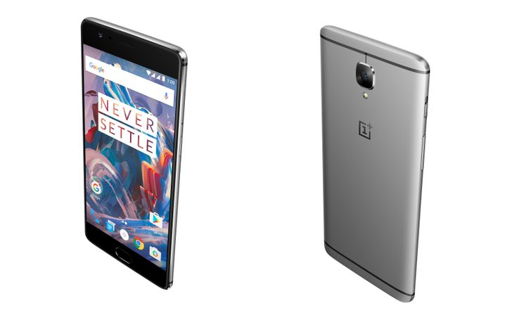 The OnePlus 3 is official with a Snapdragon 820, 6GB of RAM, an aluminum unibody frame, and no invite needed