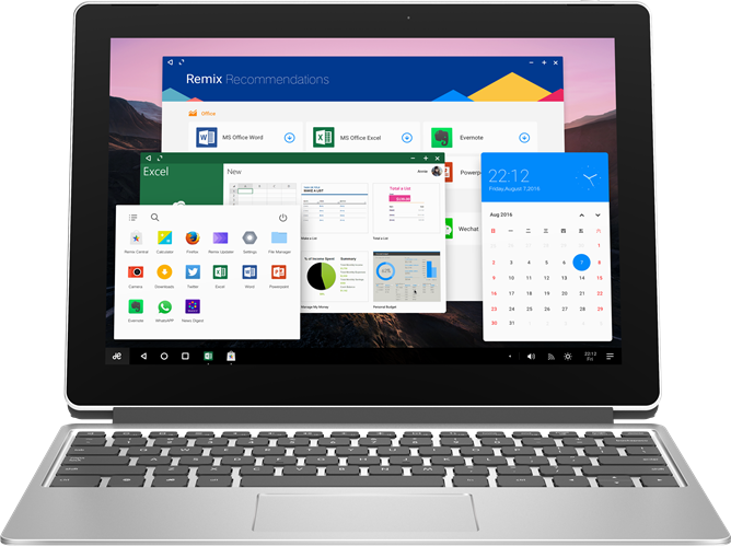 Jide announces Remix Pro tablet and a new Remix mini PC, plus an Acer laptop and AOC all-in-one running Remix OS, but only for China