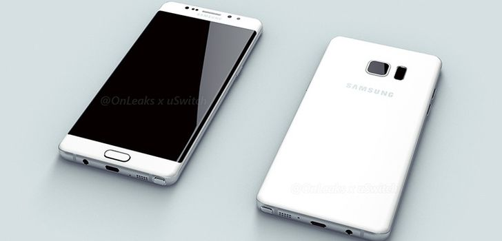 Note 6 Leak Points To USB Type-C Port, A Curved Screen, And Maybe Finally Iris Scanning