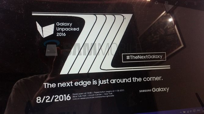 """Leaked Image Shows """"The Next Galaxy"""" Event Scheduled For Aug. 2nd, Probably Next Note"""