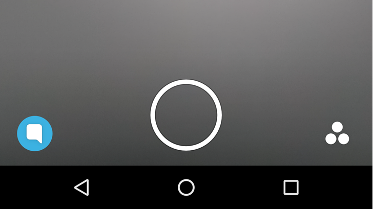 Ios Snapchat Like Buttons Over Different View