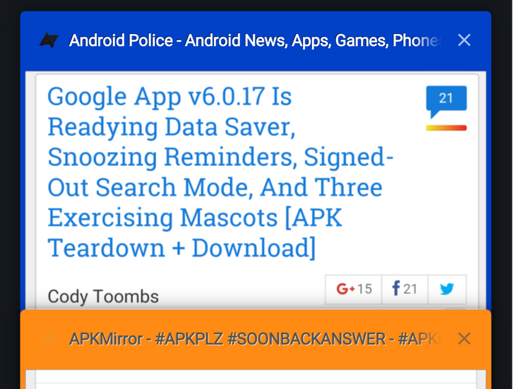Chrome Dev 53 Adds Flag To Show Tab Colors In Tab Manager UI [APK Download]