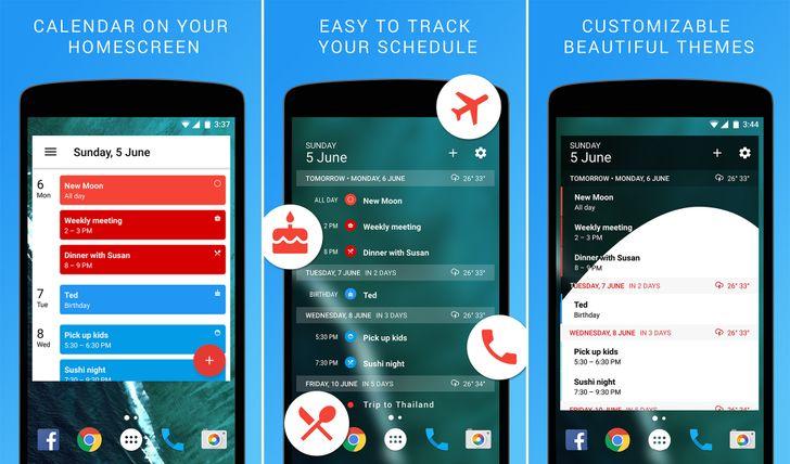Candl Apps follows up popular 'Month' calendar widget with an agenda version