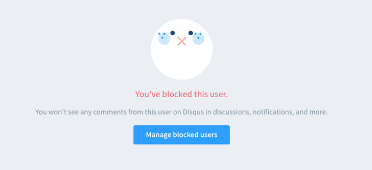 [Meta] You can now block annoying jerks in Disqus comments