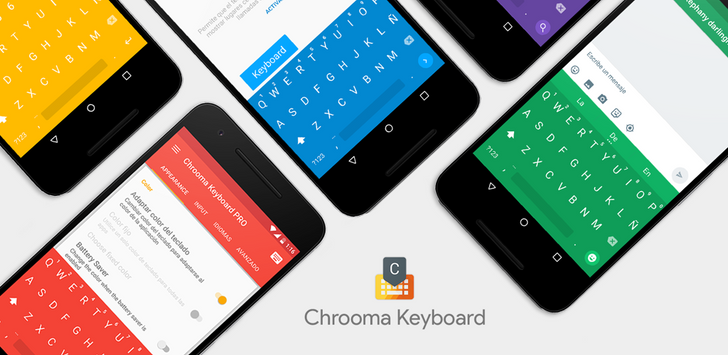 [Impressive] Chrooma Keyboard 3.0 adds gestures, themes and adaptive colors, Google Now integration, an action bar, more