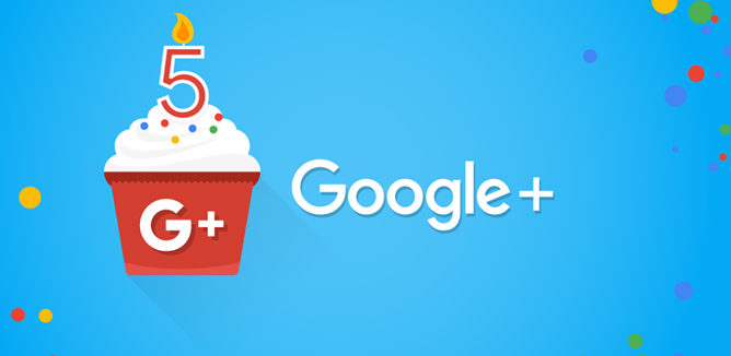 Google+ social network turns 5 years old, wants a pony and a plastic rocket for its birthday