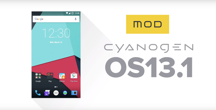 Cyanogen OS 13.1 Is Rolling Out With MOD Support, Twitter, Skype, OneNote, Cortana, and Hyperlapse included