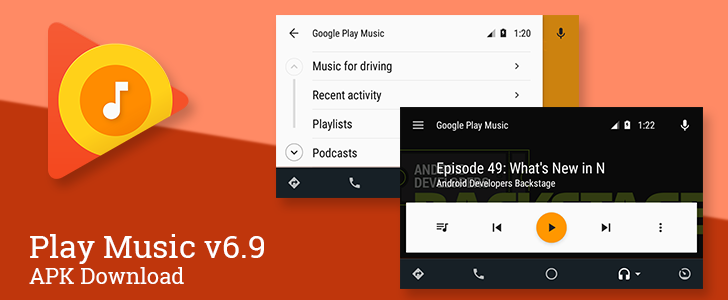 Play Music v6.9 Brings Podcast Support To Android Auto And Relocates The Genre Selector In New Releases [APK Download]