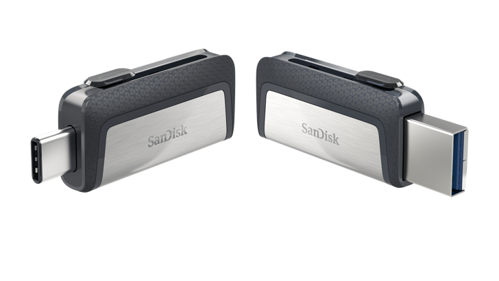 SanDisk Announces New Dual USB-C/USB-A Flash Drives For Laptops And Smartphones