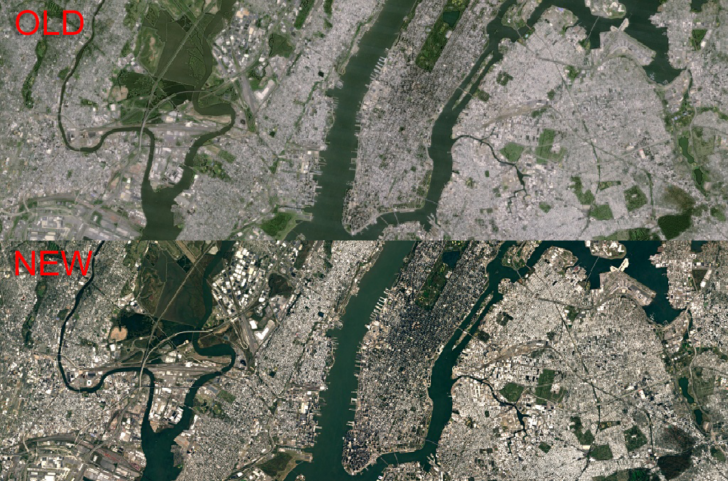 Google Releases Sharper Satellite Images In Google Earth And Maps - Map through satellite