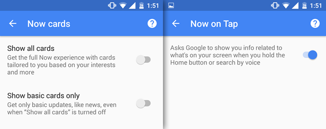 Android Users Can Access Google Now On Tap Without Enabling Google Now Cards