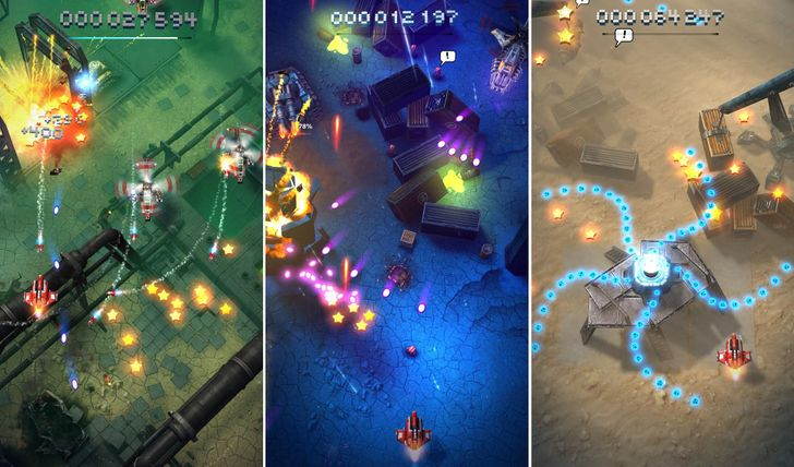 Sky Force Reloaded Brings More Top-Down Shoot 'Em Up Fun To Android