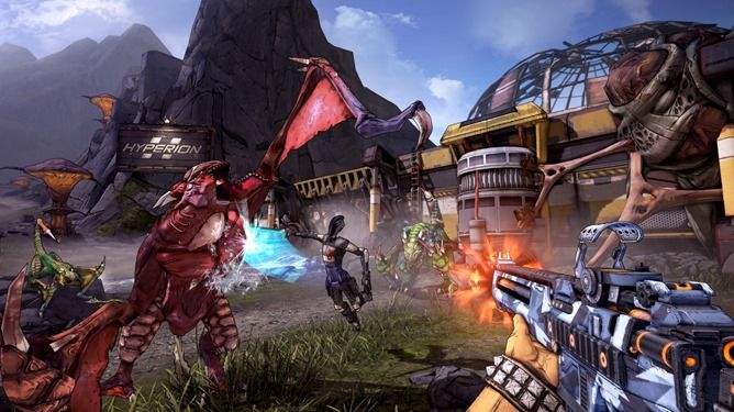 Borderlands 2 (the best one) is coming to SHIELD TV and Tablet, The Pre-Sequel will come to SHIELD Tablet too