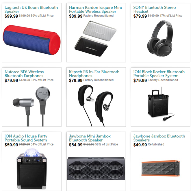 [Deal Alert] Woot Offers Discounts On A Smattering Of Bluetooth Headphones And Speakers From Jawbone, JBL, Sony, Klipsch, Logitech, And More, Today Only