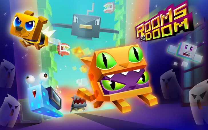 The latest game from Crossy Road publisher is the endless runner Rooms of Doom