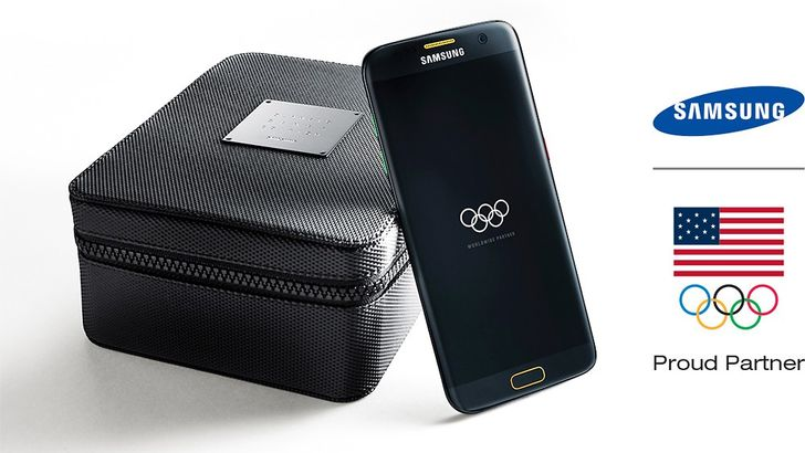 Samsung's Galaxy S7 edge Olympic Games Edition is now available in the US, exclusively at Best Buy