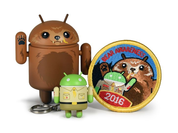 Dead Zebra's summer 2016 Android collectible emphasizes bear awareness