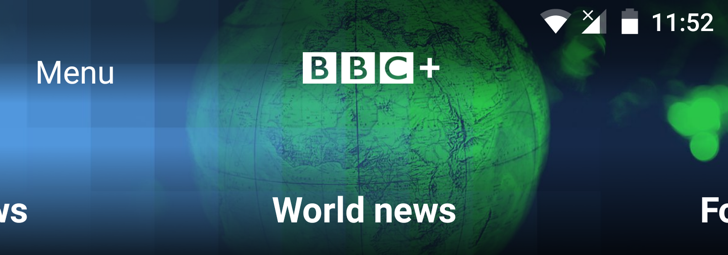 BBC releases BBC+, an app for all your news and TV needs