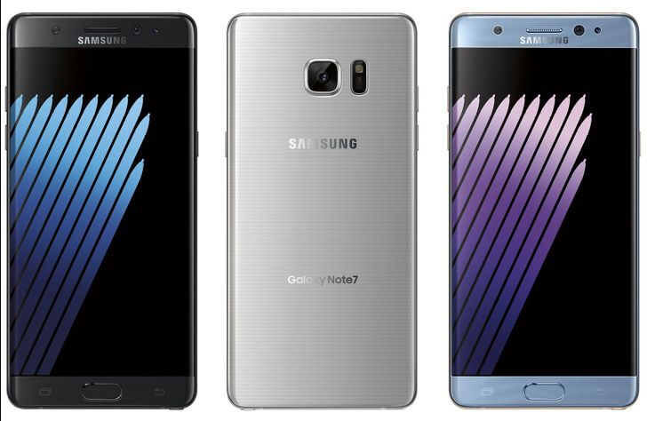 Evleaks publishes press renders of the Galaxy Note7, again confirming name