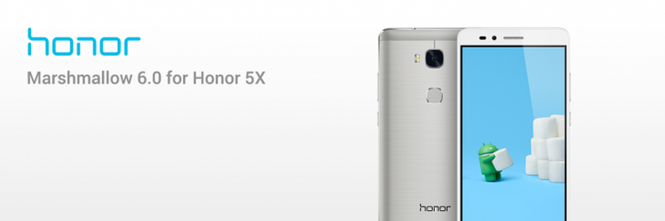Huawei releases Marshmallow for the Honor 5X with EMUI 4.0
