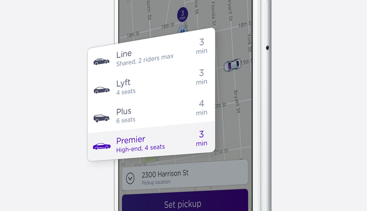Lyft Premier launches in the Bay Area, Los Angeles, and New York City as an alternative to UberLUX
