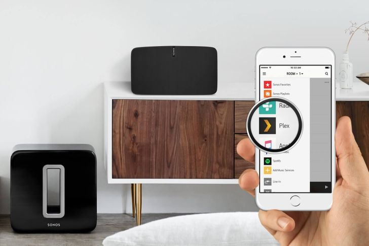 Sonos Android app gains Plex integration, currently in beta