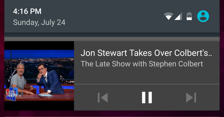 Latest YouTube update removes notification button to close background play