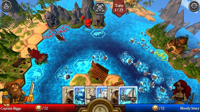 Pirate strategy game Age of Booty: Tactics finally lands on the shores of the Play Store
