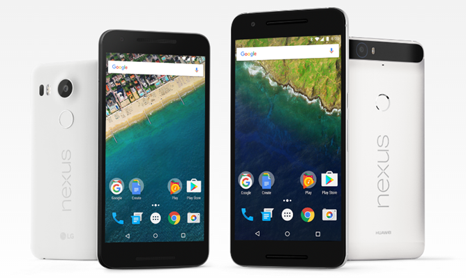 [Update: Amazon too] Deal Alert: B&H, Best Buy, and Newegg offer up to $130 off the Nexus 5X, $100 off the 6P