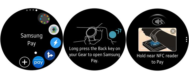 Samsung is beta testing Samsung Pay for the Gear S2