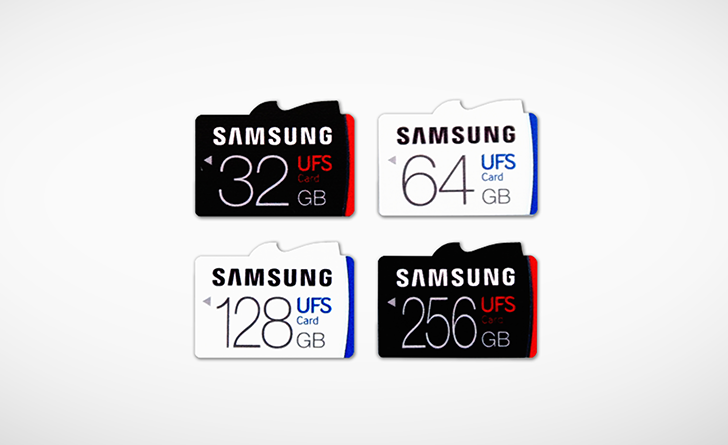[Ultra Fast Storage] Forget MicroSD cards, Samsung introduces UFS removable cards with up to 530MB/s read speeds