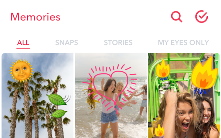 Snapchat adds Memories: an easier way for you to find your best snaps and stories