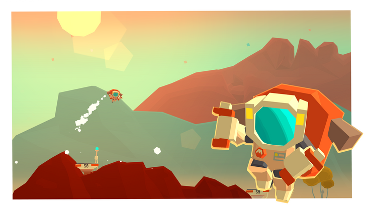 Mars: Mars is a delightful low-poly platformer mixed with an endless runner