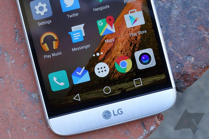 LG G5 gets very limited 7.0 Nougat preview