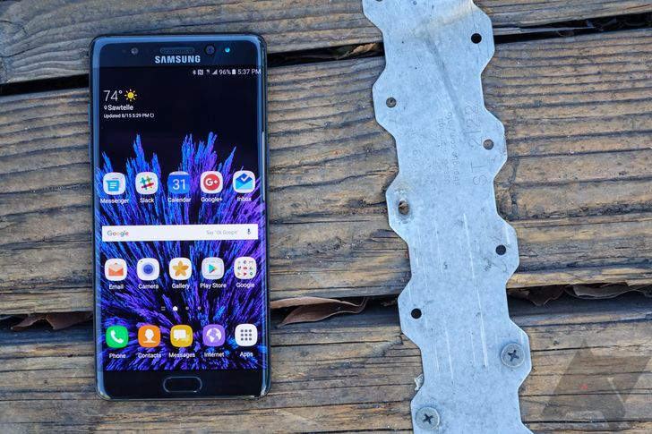 Galaxy Note7: Six days with Samsung's latest