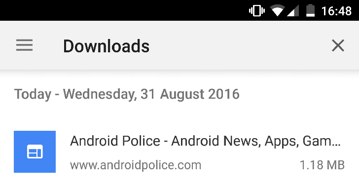 Chrome Dev adds a downloads manager and the ability to save a page for offline viewing