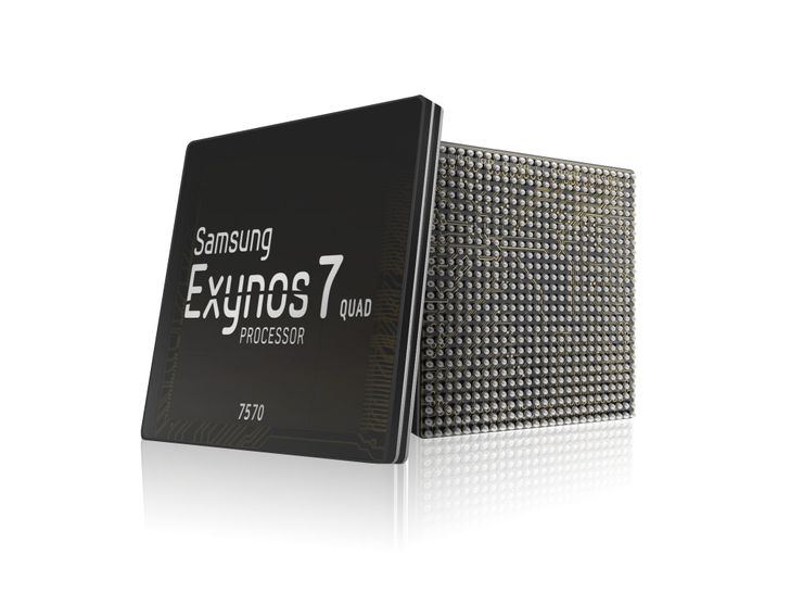 Samsung announces Exynos 7570, a budget SoC with 14nm process and integrated WiFi, Bluetooth, and GPS