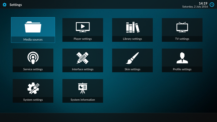 Kodi version 17 beta with new Estuary and Estouchy themes is now ready for download