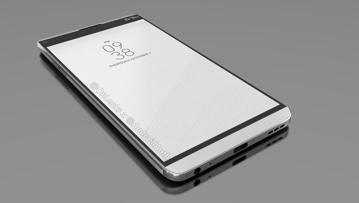 Leaked LG V20 renders show off modular chin and dual cameras