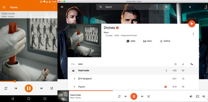 google play music my music
